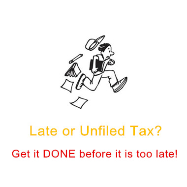Unfiled tax
